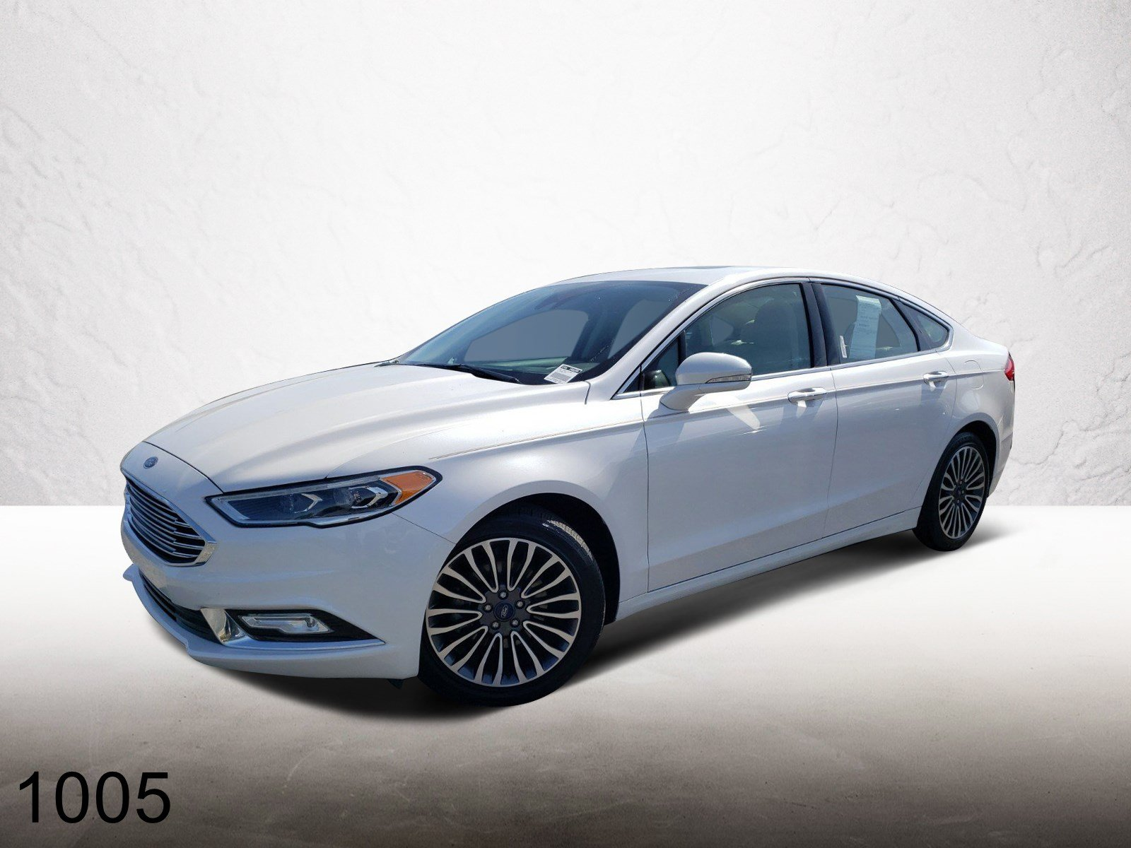 Pre-Owned 2017 Ford Fusion TITANI FWD