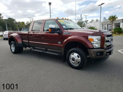Pre-Owned 2016 Ford Super Duty F-350 DRW King Ranch